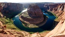 Curvatura em ferradura de Grand Canyon perto da página o Arizona Imagens de Stock Royalty Free