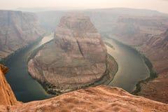 Curvatura em ferradura no Arizona Imagem de Stock