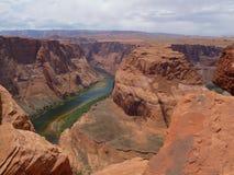 Curvatura em ferradura, o Arizona Imagem de Stock