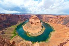 Curvatura em ferradura, o Arizona Imagens de Stock