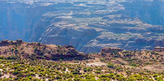 Curvatura a ferro di cavallo nel parco nazionale di Grand Canyon, Arizona, Stati Uniti d'America fotografie stock