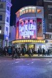 Curvatura gradisce Beckham musicale al teatro di Phoenix - Londra Inghilterra Regno Unito fotografia stock