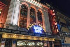 Curvatura gradisce Beckham musicale al teatro di Phoenix - Londra Inghilterra Regno Unito immagine stock libera da diritti