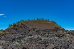 Curvatura próxima de Lava Butte, Oregon foto de stock royalty free