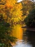 Curvaturas do rio no outono Imagem de Stock Royalty Free