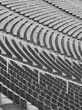 Curve. Olympic stadium in Barcelona, Spain Royalty Free Stock Images