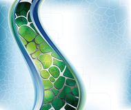 Curve Abstract vector illustration
