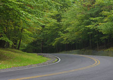 Curve Ahead Royalty Free Stock Photography