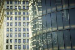 Curve Architecture in Chicago Stock Photo