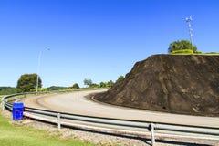 Curve asphalt road Royalty Free Stock Photos
