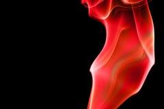 Curve astratte del fumo - Fier Fotografie Stock