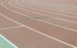 Curve Athletics. Athletics sports club, jogging track, sport royalty free stock images