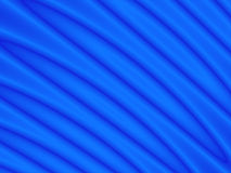 Curve blu Fotografia Stock