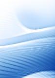 Curve blu-chiaro Fotografia Stock