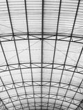 Curve bright roof Stock Photo