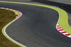 Curve circuit Royalty Free Stock Photography