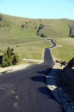 Curve della montagna immagini stock libere da diritti