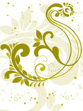 Curve design background with tattoo vector Royalty Free Stock Photo