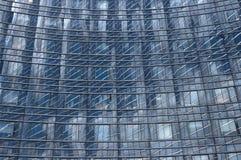 Curve di riflessioni della costruzione Fotografia Stock Libera da Diritti