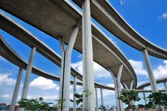 Curve of the highway Royalty Free Stock Photography
