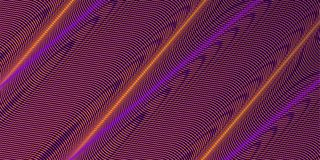 Curve intersecting lines vector neon background royalty free stock photo