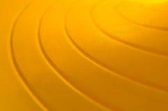 Curve-02 jaune Image libre de droits