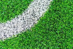 Curve Line of indoor football soccer training field. Curve Line of an indoor football soccer training field stock images