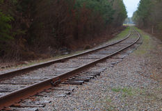 Curve in the line Stock Photos