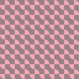 Curve line repeating seamless pattern design. Stock Photography