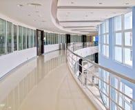 Curve office walk way Stock Photos