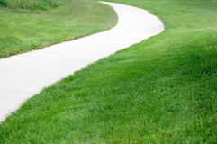 Curve path Stock Photography
