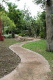 Curve pathway Royalty Free Stock Images