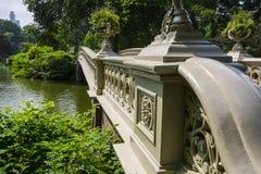 Curve a ponte Imagem de Stock