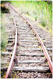 Curve rail corner with climb Royalty Free Stock Photography