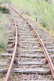 Curve rail corner with climb Royalty Free Stock Image
