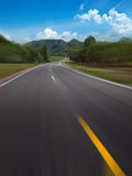 Curve Road Royalty Free Stock Photo