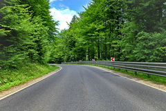curve road Royalty Free Stock Photos