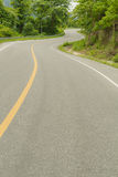 Curve road. Royalty Free Stock Image