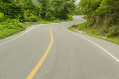 Curve road. Stock Image