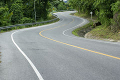 Curve road. Stock Photography