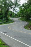 curve road Stock Photography