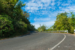 Curve road Royalty Free Stock Photography