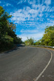 Curve road Stock Images