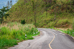 Curve road Stock Image