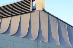 Curve roof of Yoyogi National Gymnasium in Tokyo. Japan stock images