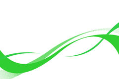 Curve scorrenti di Swoosh illustrazione vettoriale