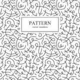 Curve seamless pattern. Curve seamless pattern in memphis style. Retro fashion 80-90s royalty free illustration