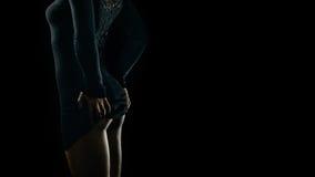 Curve seducenti della donna Fotografie Stock Libere da Diritti