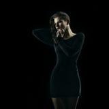 Curve seducenti della donna Fotografia Stock Libera da Diritti