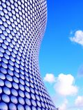 Curve and the sky. Mall at Birmingham Royalty Free Stock Photography